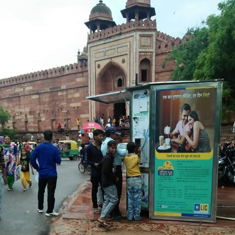 Free-Water-service at Fatehpur Sikri