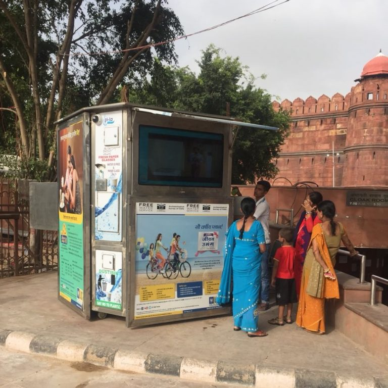 Free-Water-service at Red Fort Delhi