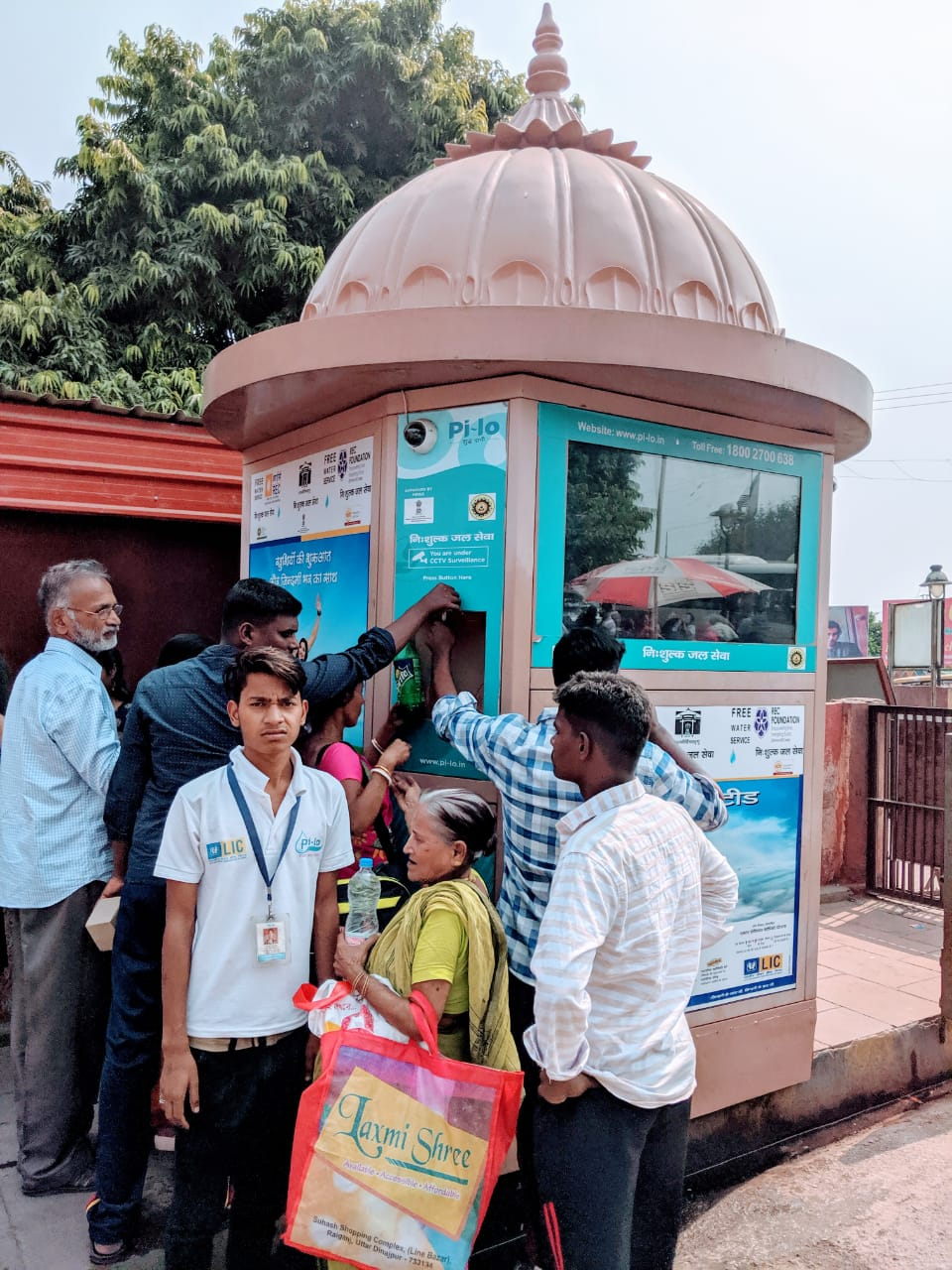 PILO SMART WATER ATM AT HUMAYUN'S TOMB, DELHI