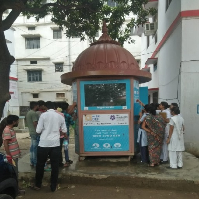 PILO SMART WATER ATM AT GORAKHPUR