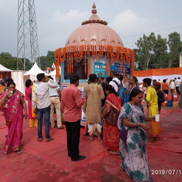 Pi-Lo Smart Water Atm at Haridwar